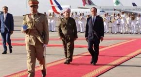 FRANSA CUMHURBAŞKANI FRANÇOIS HOLLANDE'IN IRAK ZİYARETİ