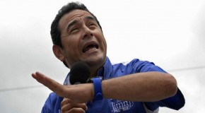 GUATEMALA'YA KOMEDYEN DEVLET BAŞKANI: JIMMY MORALES