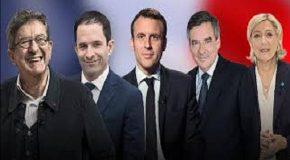 2017 FRANSA CUMHURBAŞKANLIĞI SEÇİMLERİ ÖNCESİNDE FAVORİ ADAYLARIN TELEVİZYON TARTIŞMASI