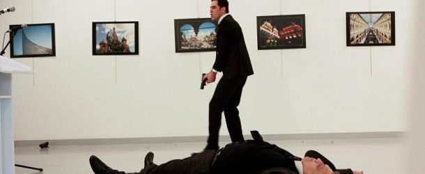 RUSSIAN AMBASSADOR TO TURKEY MR. ANDREY KARLOV WAS SHOT DEAD IN ANKARA