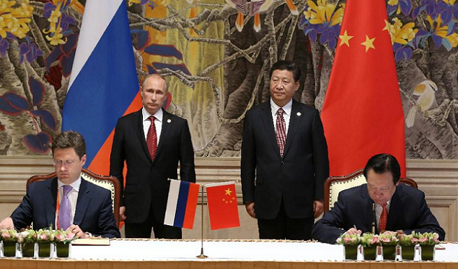 "PUTIN'S CHINA VISIT: WHERE DOES THIS ""ROAD"" LEAD?"