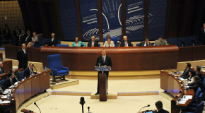 ALIYEV'S SPEECH: NEXT CALL FOR PEACE AND JUSTICE