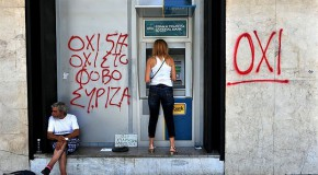 REASSERTING THE DEMOCRATIC SELF-DETERMINATION OF GREEK PEOPLE