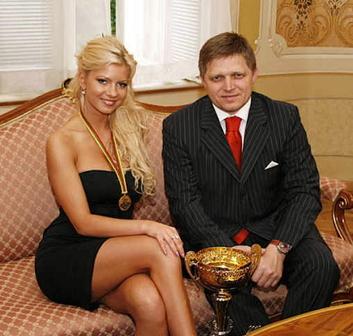 Robert_Fico_with_Eva_Martinková