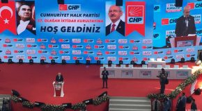 37TH CONGRESS OF TURKEY'S MAIN OPPOSITION PARTY CHP