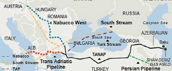 THE IMPLICATIONS OF TANAP AND TURKISH STREAM ON THE EUROPEAN ENERGY SECURITY AFTER THE RECENT UKRAINE CRISIS