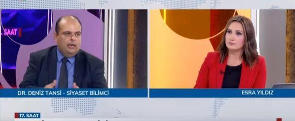 "DR. DENİZ TANSİ, KRT'DE ""17. SAAT"" PROGRAMINA KATILDI"