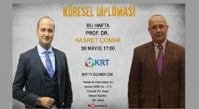 "UPA YAZARI FURKAN KAYA, ""KÜRESEL DİPLOMASİ"" PROGRAMINDA PROF. DR. HASRET ÇOMAK'I AĞIRLADI"