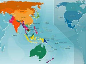 güneydoğu asya haritası