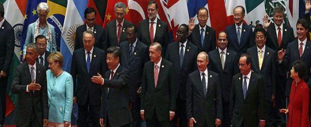 G20 ZİRVESİ'NDEN AKILDA KALANLAR…
