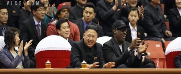 FAILED BASKETBALL DIPLOMACY AMIDST U.S.-NORTH KOREA STANDOFF