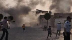 TÜRKİYE SURİYE'DEKİ HEDEFLERİ BOMBALADI