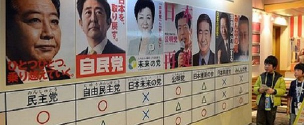 2014 JAPANESE ELECTIONS BY DR. MASAMICHI IWASAKA
