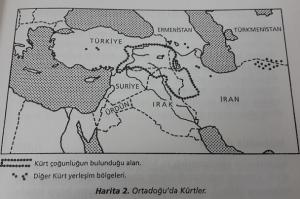 kürdistan coğrafi