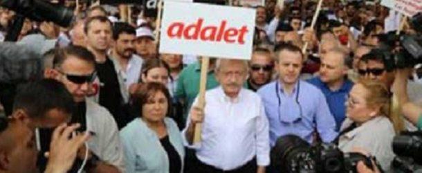 RPP LEADER KEMAL KILIÇDAROĞLU'S 'JUSTICE MARCH'