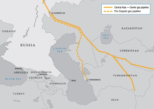 kazakhstan and central asian pipelines