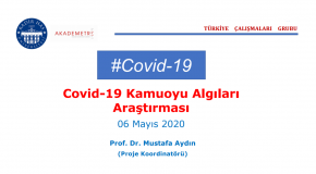 A RESEARCH ON TURKISH PEOPLE'S PERCEPTIONS OF CORONAVIRUS DISEASE