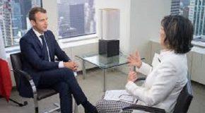 FRANSA CUMHURBAŞKANI EMMANUEL MACRON'UN CHRISTIANE AMANPOUR'A VERDİĞİ MÜLAKAT