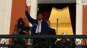 BOLİVYA'DA MORALES'İN ÜÇÜNCÜ DÖNEMİ