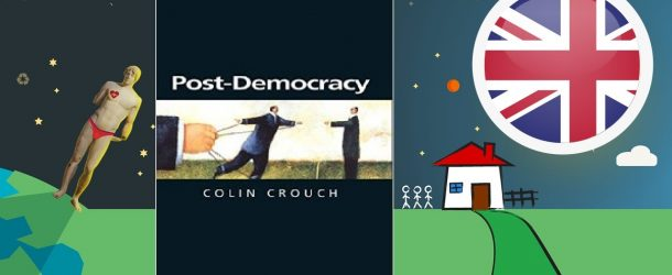 "COLIN CROUCH'TAN ""POST-DEMOKRASİ"""