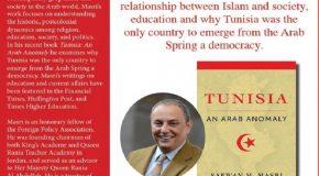 SAFWAN M. MASRI'DEN 'BİR ARAP ANOMALİSİ: TUNUS'