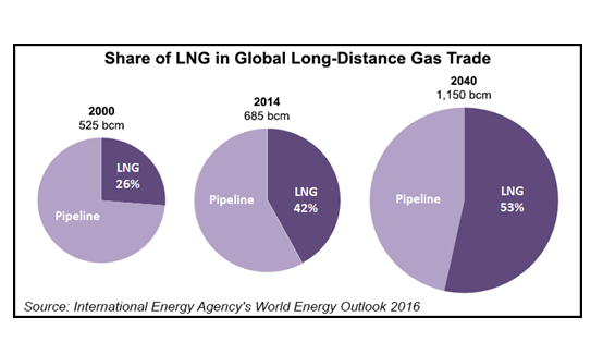 share of lng