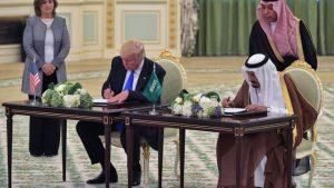 trump silah anlaşması suudi arabistan