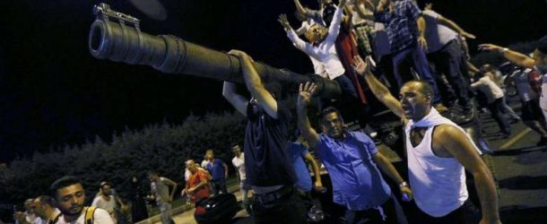 A FAILED COUP ATTEMPT IN TURKEY