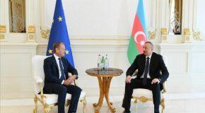 EU-AZERBAIJAN RELATIONS: KEY ASPECTS OF STRATEGIC PARTNERSHIP AGAINST BACKGROUND OF TUSK'S VISIT