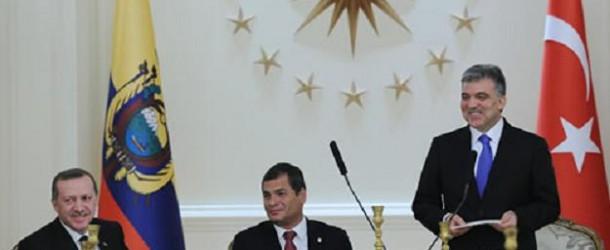 EKVADOR DEVLET BAŞKANI RAFAEL CORREA'NIN TÜRKİYE ZİYARETİ